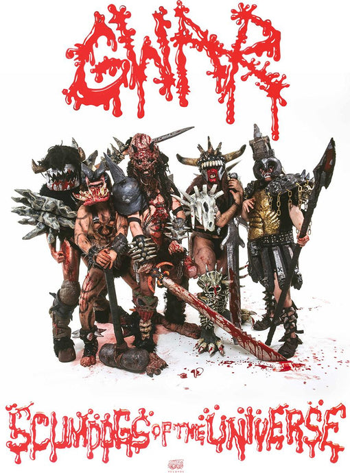 "GWAR to Release 30th Anniversary Editions Of ""Scumdogs of the Universe"" October 30th!"