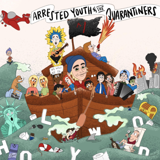 Arrested Youth Announces Fan Co-Written EP - 'Arrested Youth & The Quarantiners'