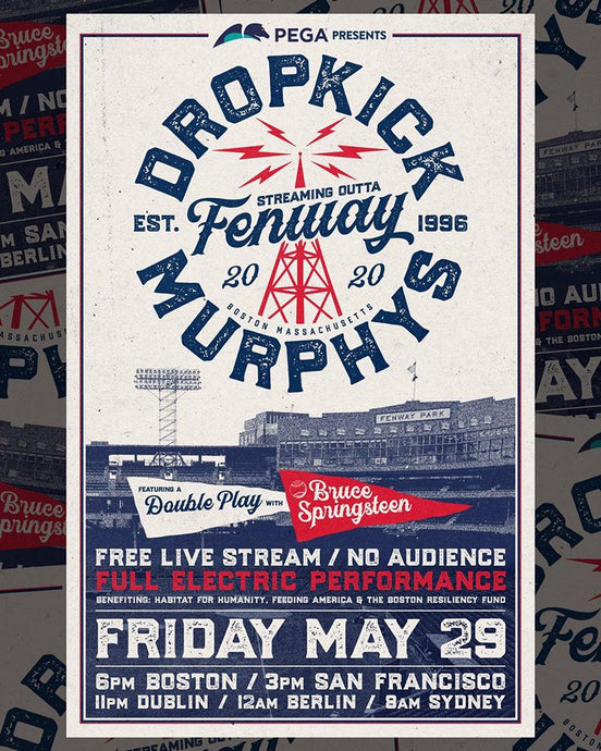DROPKICK MURPHYS TO STREAM LIVE FROM FENWAY PARK