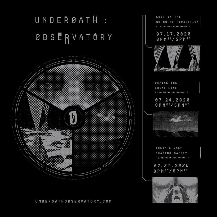 UNDERØATH : ØBSERVATORY - Tickets on sale now for HUGE livestream event!