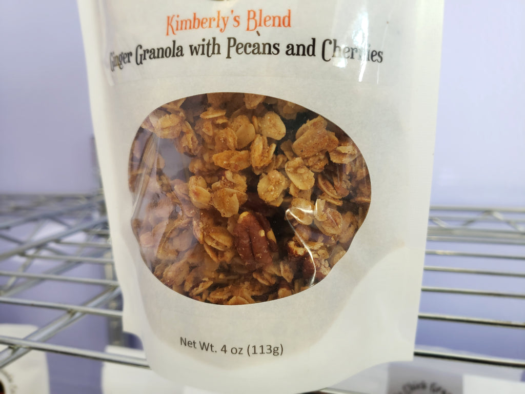 Kimberly's Blend: Ginger Pecan Granola Cherries
