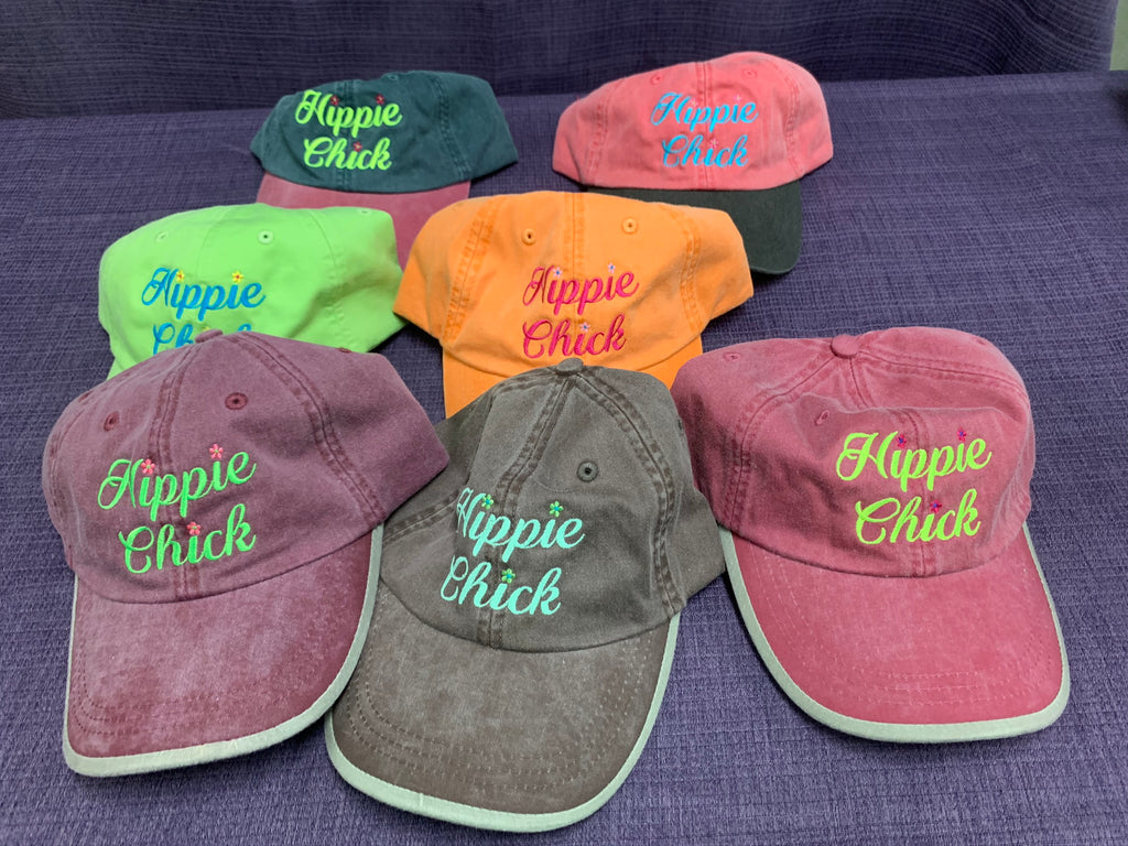 Hippie Chick Ball Cap