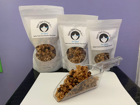 Flo's Blend: Irish Cream Chocolate Chip Pecan Granola