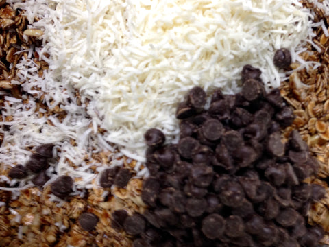 Theresa's Blend: Chocolate Espresso Granola with Almonds and Coconut