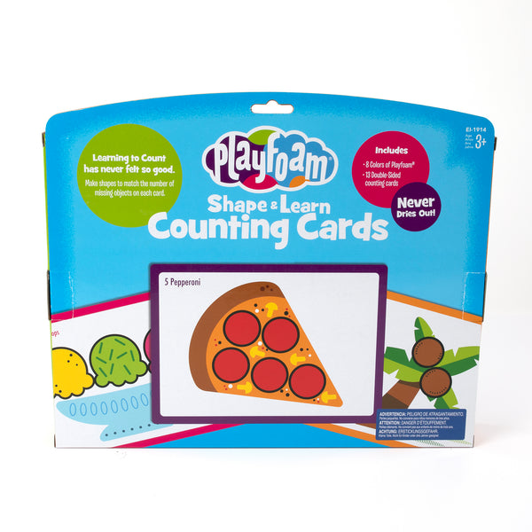 Playfoam Shape & Learn Counting Set