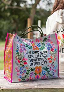 Anytime Tote  One Kind Word