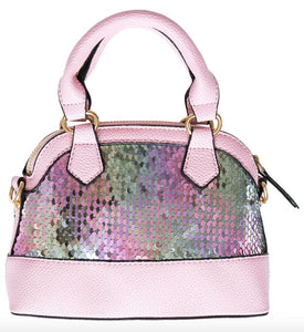Flip Sequin Girl's Purse
