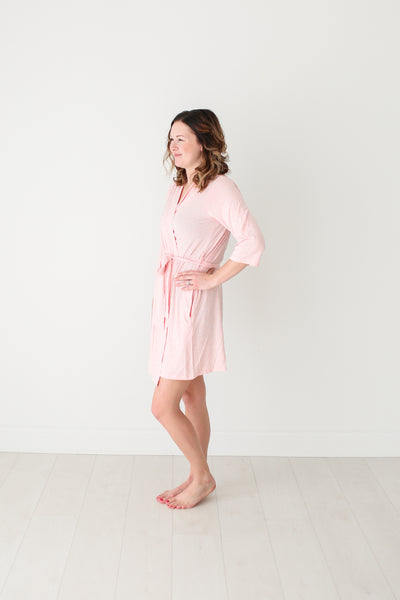 Mommy Robe - Pink Heather