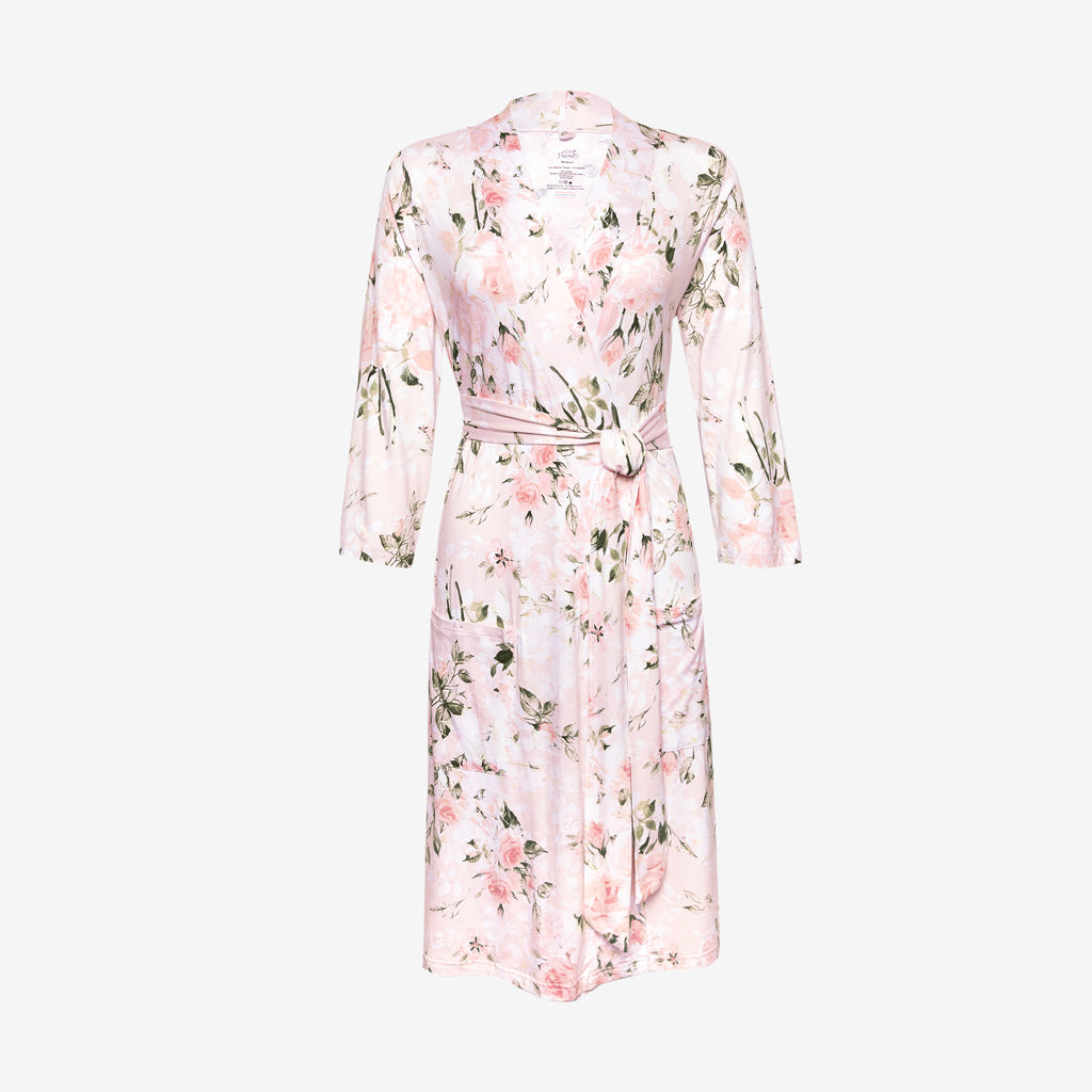 Mommy Robe - Vintage Rose Pink