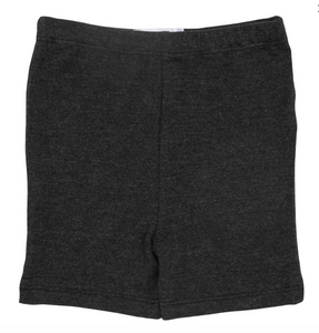 Charcoal Heather Twirl Shorts