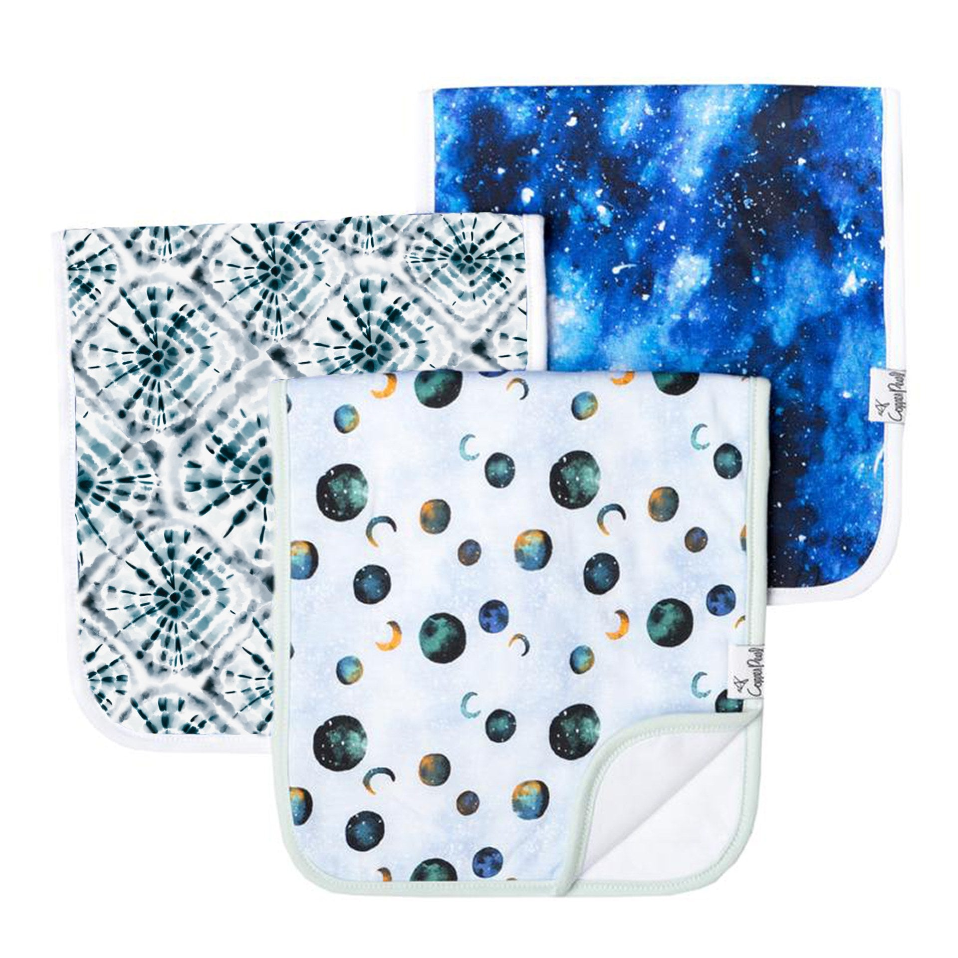Galaxy Burp Cloth