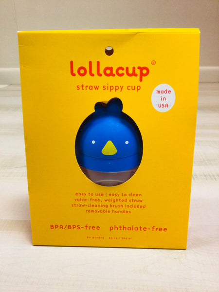 Blue Straw Sippy Cup