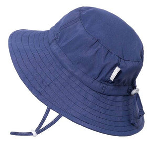 Navy Aqua Dry Bucket Hat