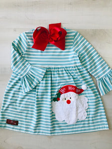 Ho! Ho! Ho! Applique Dress