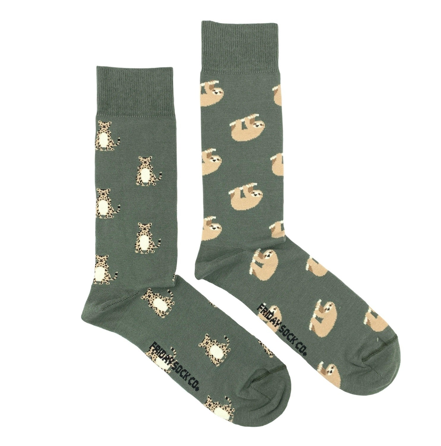 Sloth & Cheetah Women's Socks