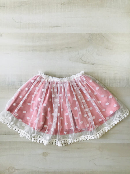 Violet Skirt in Rose