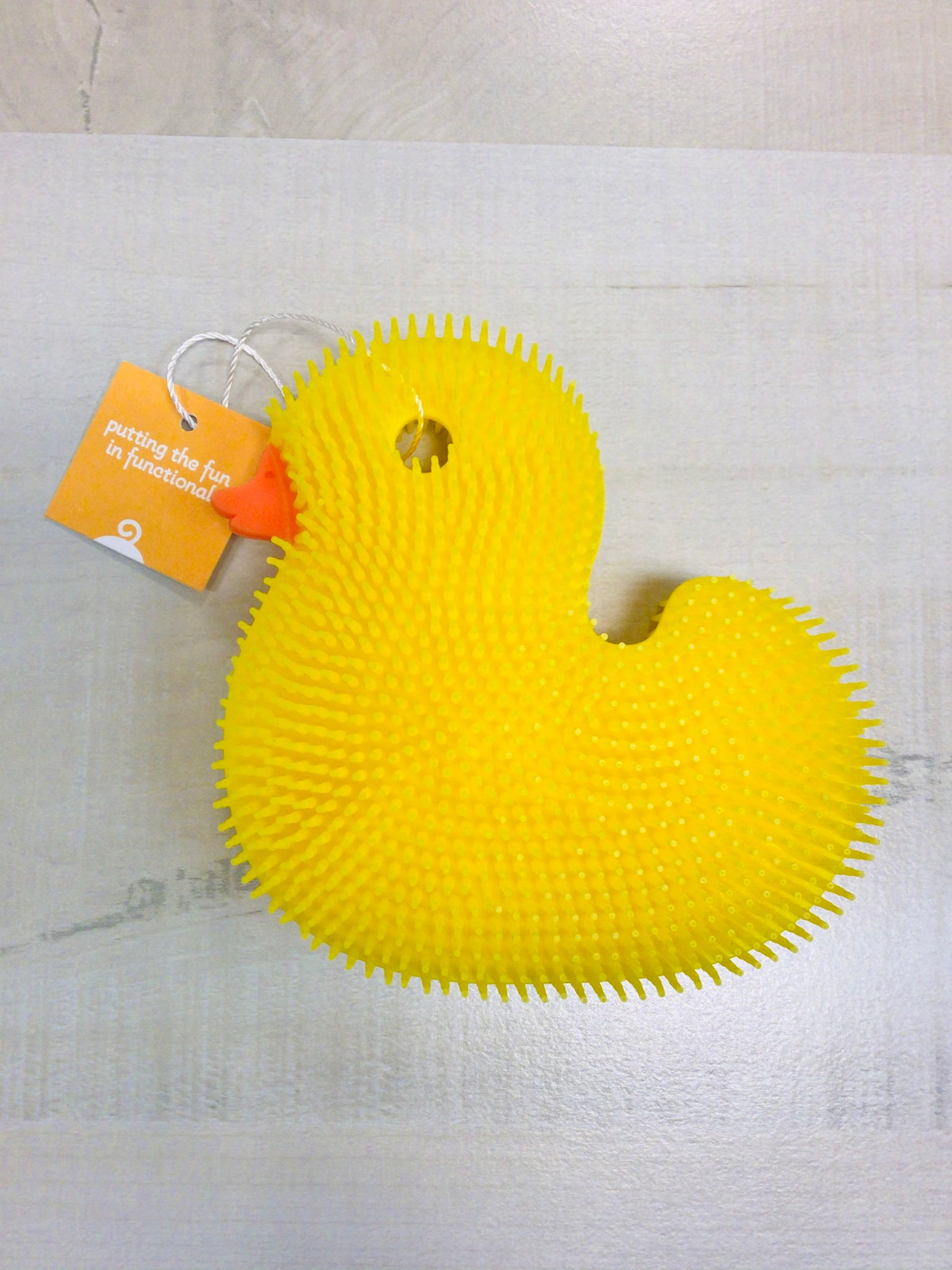 Yellow Duck Squigee