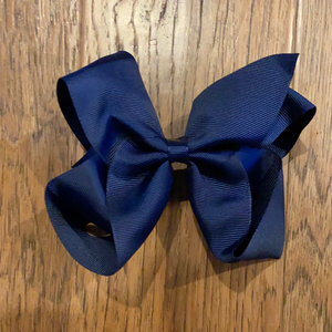 Navy Bow - Medium