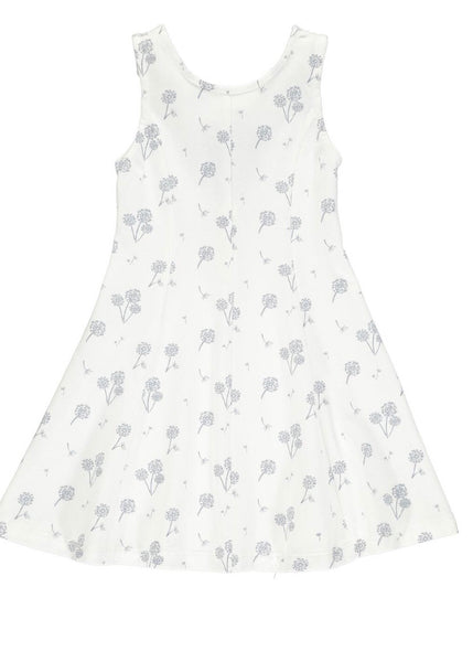 Clememtine Dress in Cream Dandelion