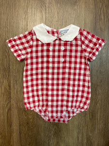 Red Gingham Seer Bubble