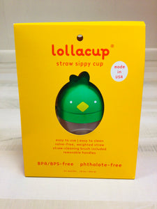 Green Straw Sippy Cup