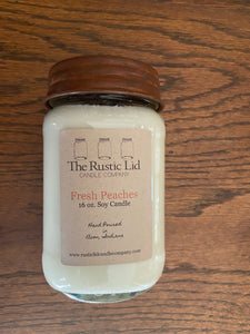 The Rusted Lid Candle Company-Summer Scents in 16 oz.