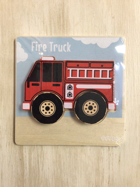 Vehicle Puzzle Fire Truck