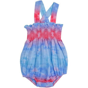 Shibori Smocked Sunsuit