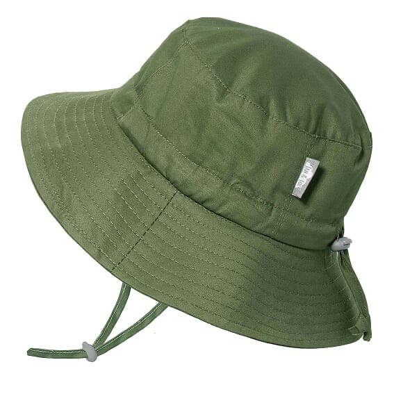 Green Cotton Bucket Hat