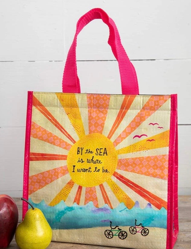 Insulated Lunch Bag - By the Sea