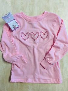 Vintage Heart Long Sleeve Tee