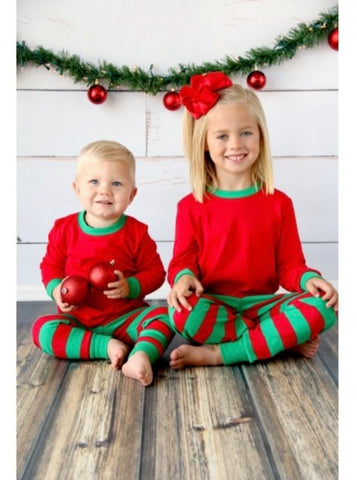 Red & Green Christmas Pajamas