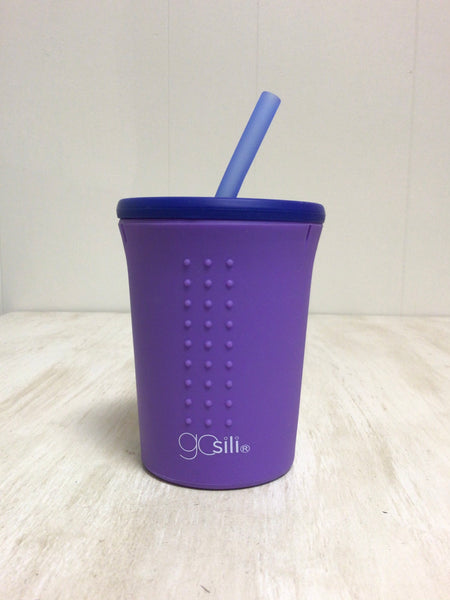 Purple 12 oz. Straw Cup