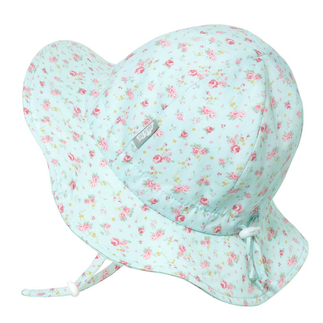 Retro Rose Cotton Floppy Sun Hat