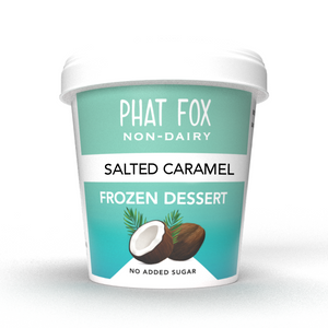Salted Caramel Ice Cream - Vegan