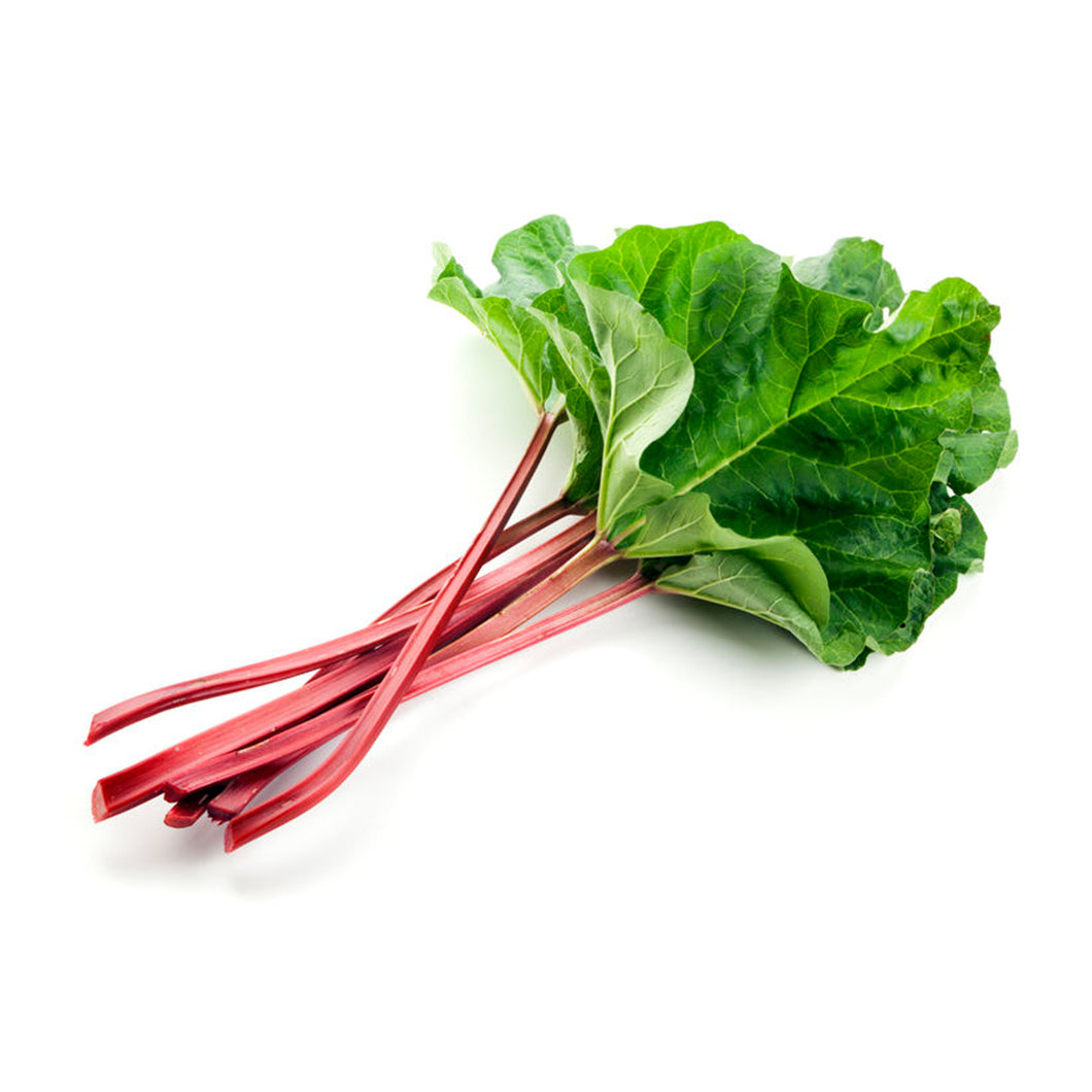 Rhubarb (stems and leaves)