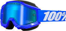 100% Accuri Snow Goggles — Mirrored Lens - hardcoremx.com