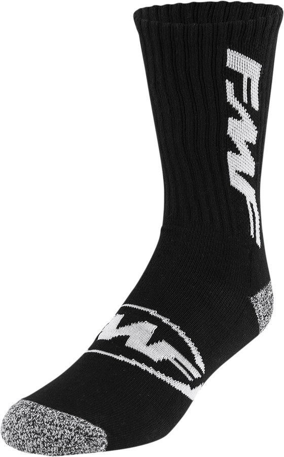 FMF Tall Boy 2 Socks - Black - hardcoremx.com
