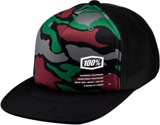 100% Trucker Trooper Hat - hardcoremx.com