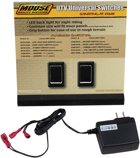 Moose Utility UTV Switches Display - hardcoremx.com