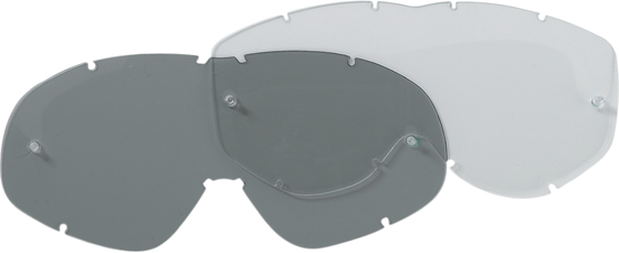 Moose Racing Clear Replacement Goggle Lens ラ Smith - hardcoremx.com
