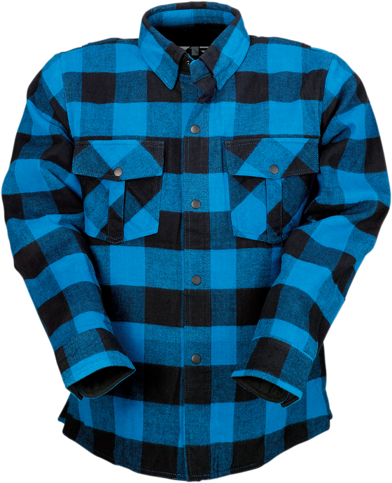 Duke Flannel Shirt Z1R - hardcoremx.com
