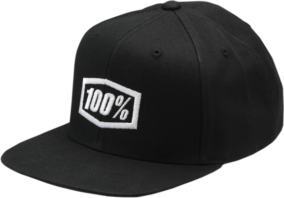 100% Youth Corpo Snapback Hat - hardcoremx.com