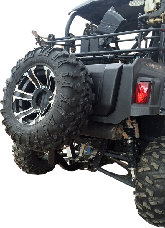 Moose Utility Receiver Hitch Spare Tire Mount - hardcoremx.com