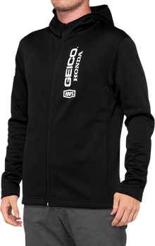 100% Aeronaut Hooded Softshell Jacket - hardcoremx.com