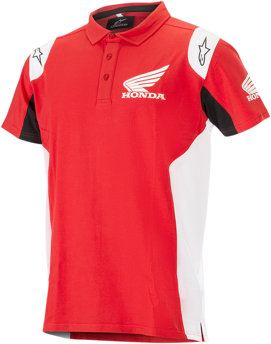 Alpinestars Honda Short Sleeve Shirt - hardcoremx.com