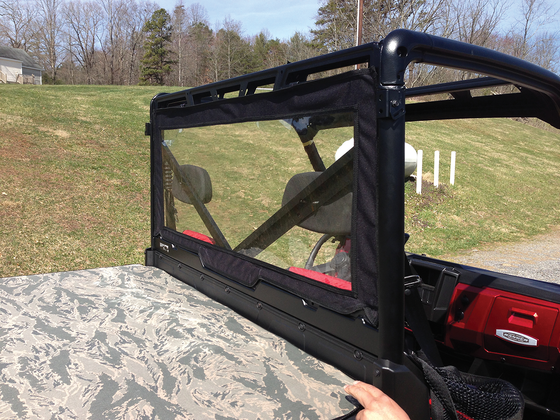 Moose Utility UTV Rear Dust Panel - hardcoremx.com