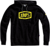 100% Syndicate Fleece Zip-Up Hoodie - hardcoremx.com