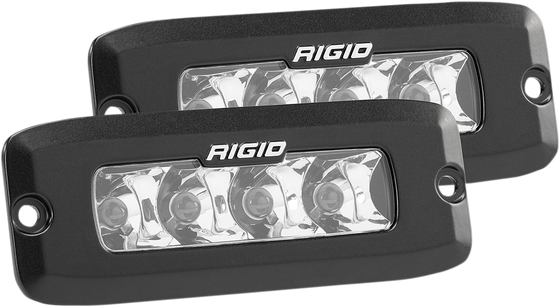 Rigid Industries SR-Q Series PRO LED Light — Spotlight, Flush Mount - hardcoremx.com
