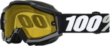 100% Accuri Snow Goggles — Yellow Lens - hardcoremx.com